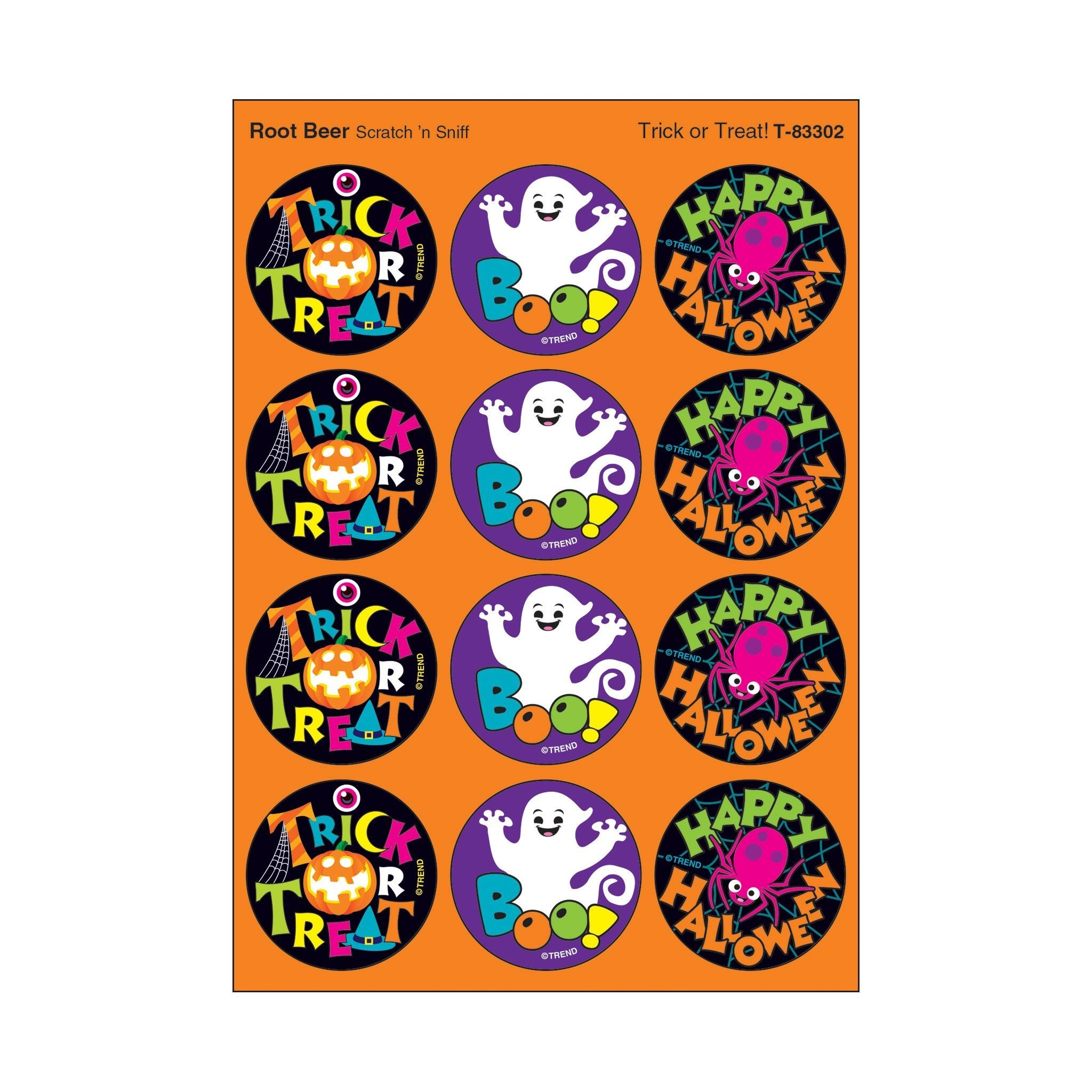 Trick or Treat!/Root Beer Stinky Stickers®