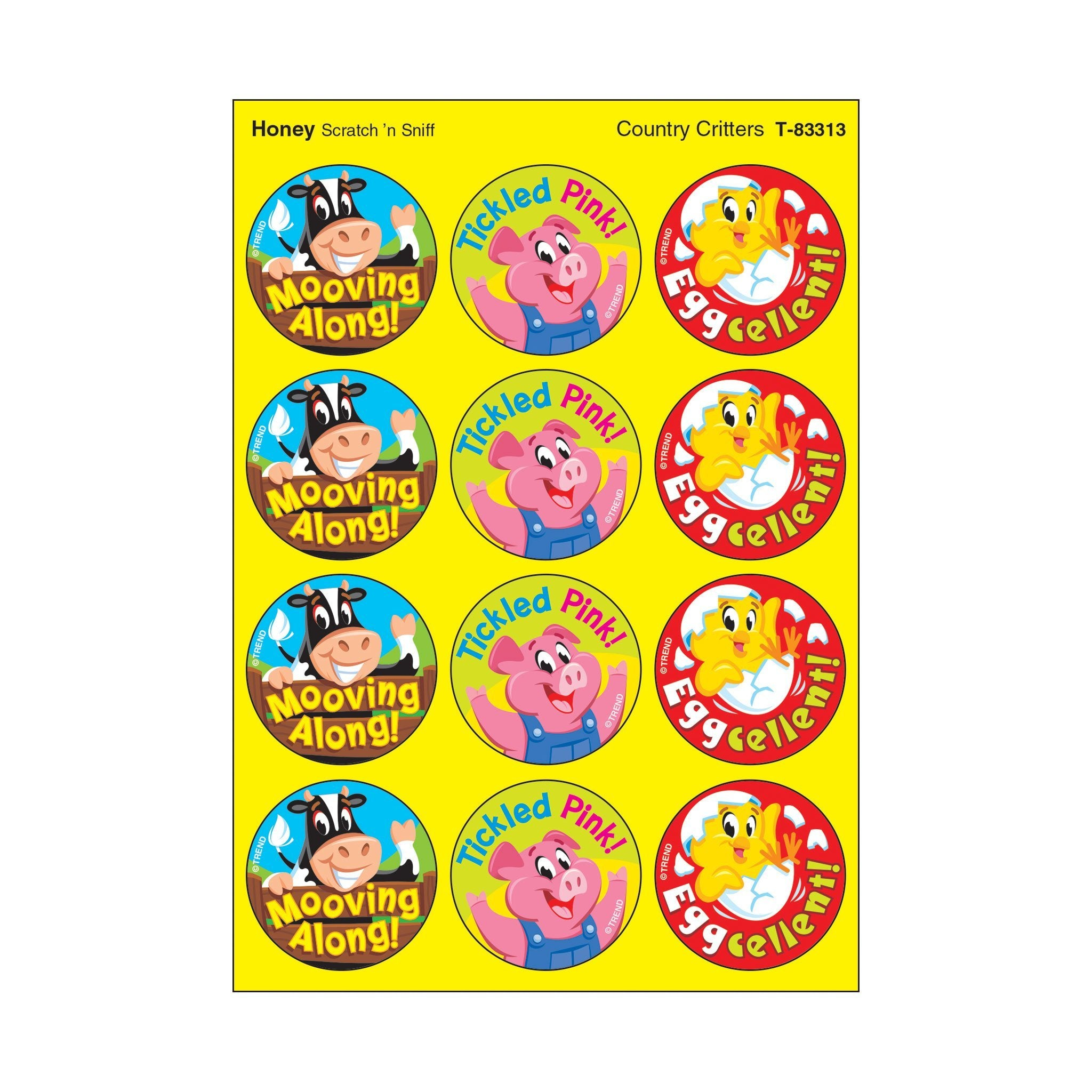 Country Critters/Honey Stinky Stickers®