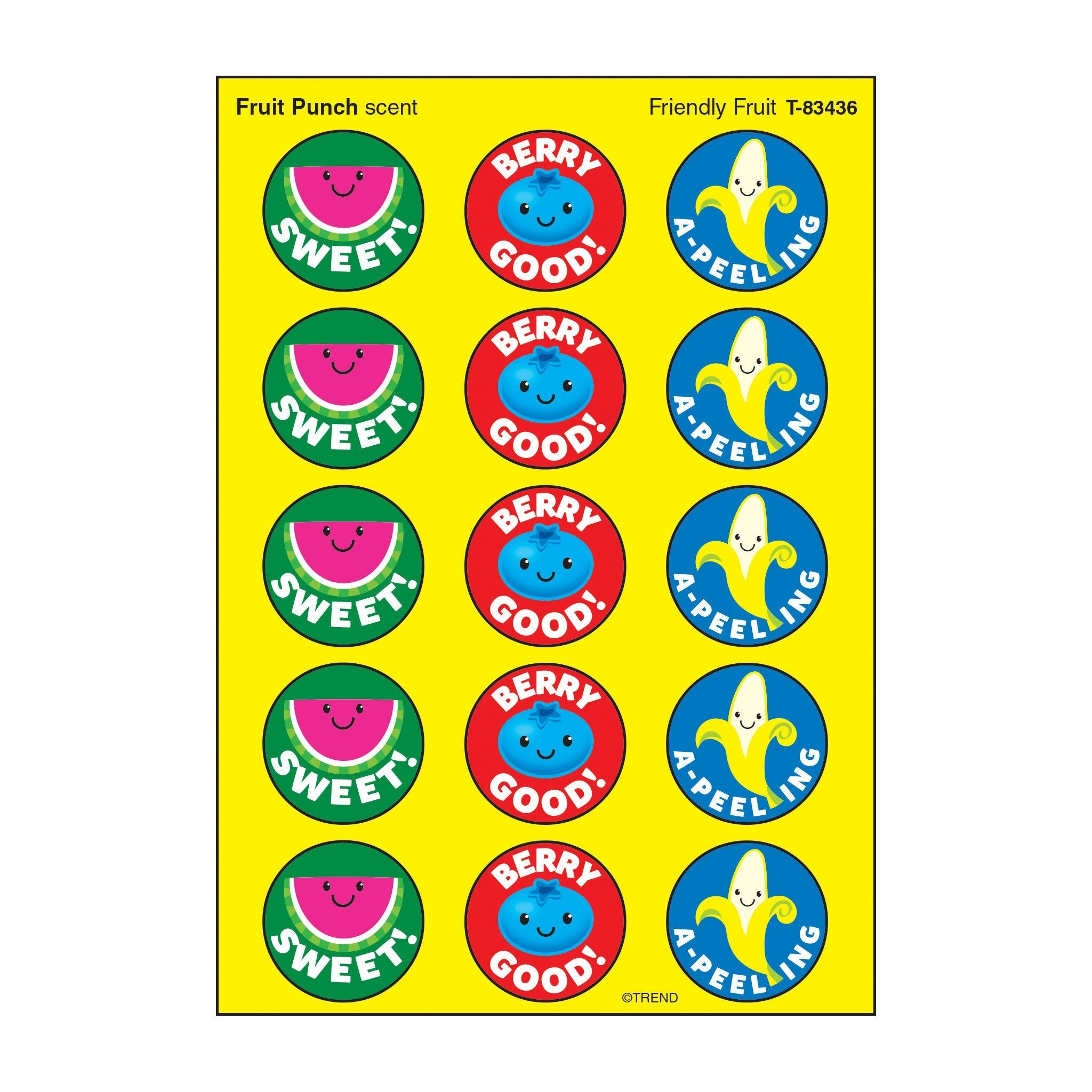 Friendly Fruit/Fruit Punch Stinky Stickers®