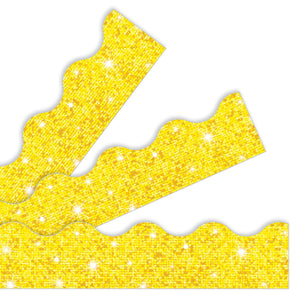 Yellow Sparkle Borders & Trimmers