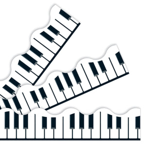 Musical Keyboard Borders & Trimmers