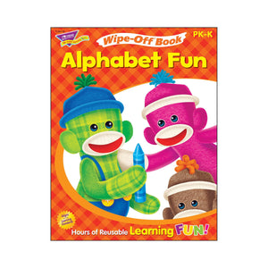 Alphabet Fun Sock Monkeys Wipe-Off® Book