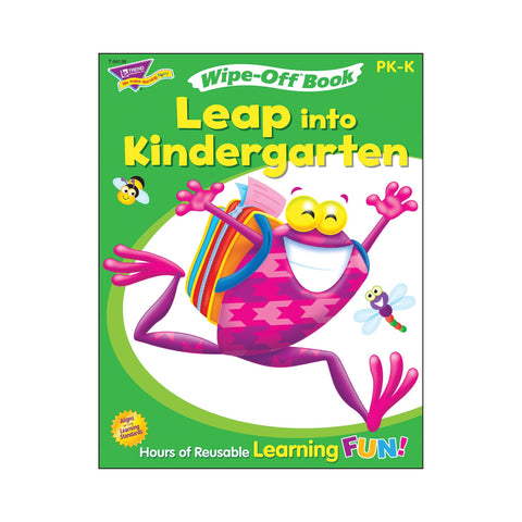 Leap Into Kindergarten Wipe-Off® Book
