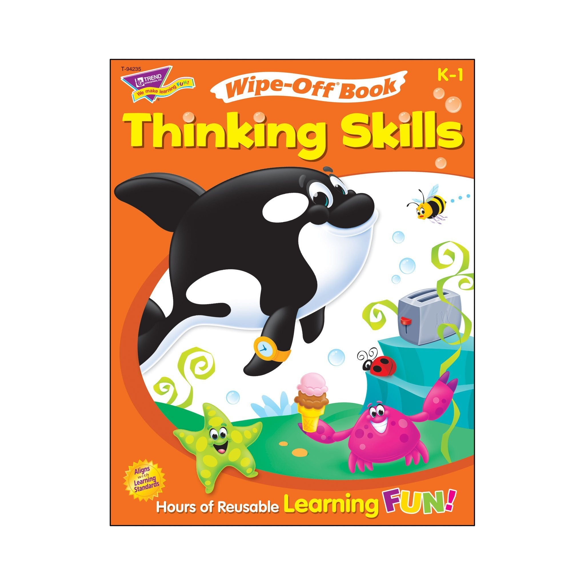 Thinking Skills Wipe-Off® Book