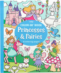 Color-In' Book - Princess & Faires