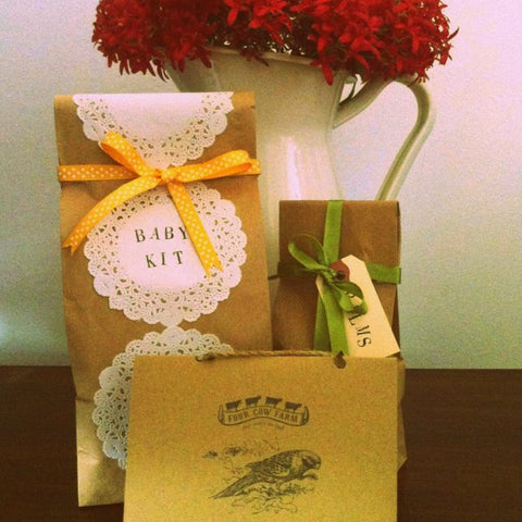 Handmade Gift Wrapping, Personalised Note & Courier Delivery