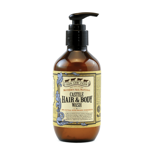 Mother's All-Natural Castile Hair & Body Wash 185ml / 6.26 fl.oz