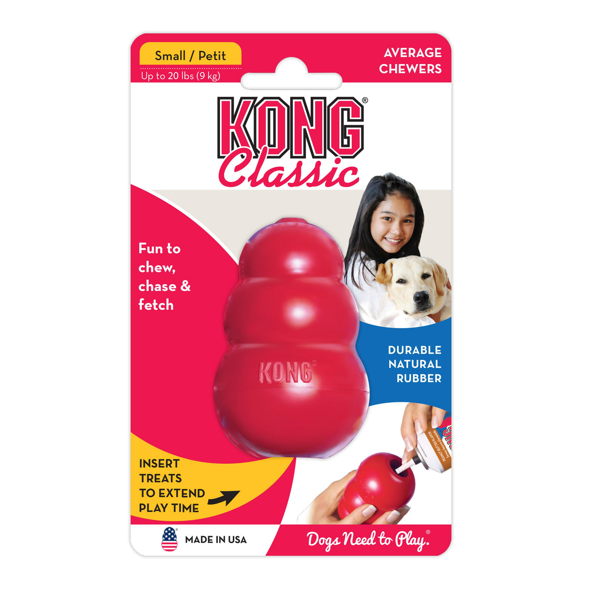 Kong Extra Small Kong Classic