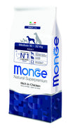 Monge Natural Superpremium secco cane NEW LINE MEDIUM ADULT POLLO