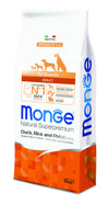 Monge Natural Superpremium secco cane NEW LINE ALL BREEDS ADULT ANATRA,RISO&PATATE