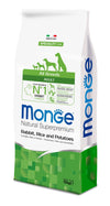 Monge Natural Superpremium secco cane NEW LINE ALL BREEDS ADULT CONIGLIO,RISO&PATATE