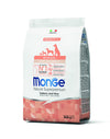 Monge Natural Superpremium secco cane NEW LINE ALL BREEDS PUPPY SALMONE&RISO
