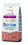 Monge Natural Superpremium secco cane NEW LINE X-SMALL ADULT SALMONE&RISO