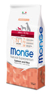 Monge Natural Superpremium secco cane NEW LINE MINI ADULT SALMONE&RISO