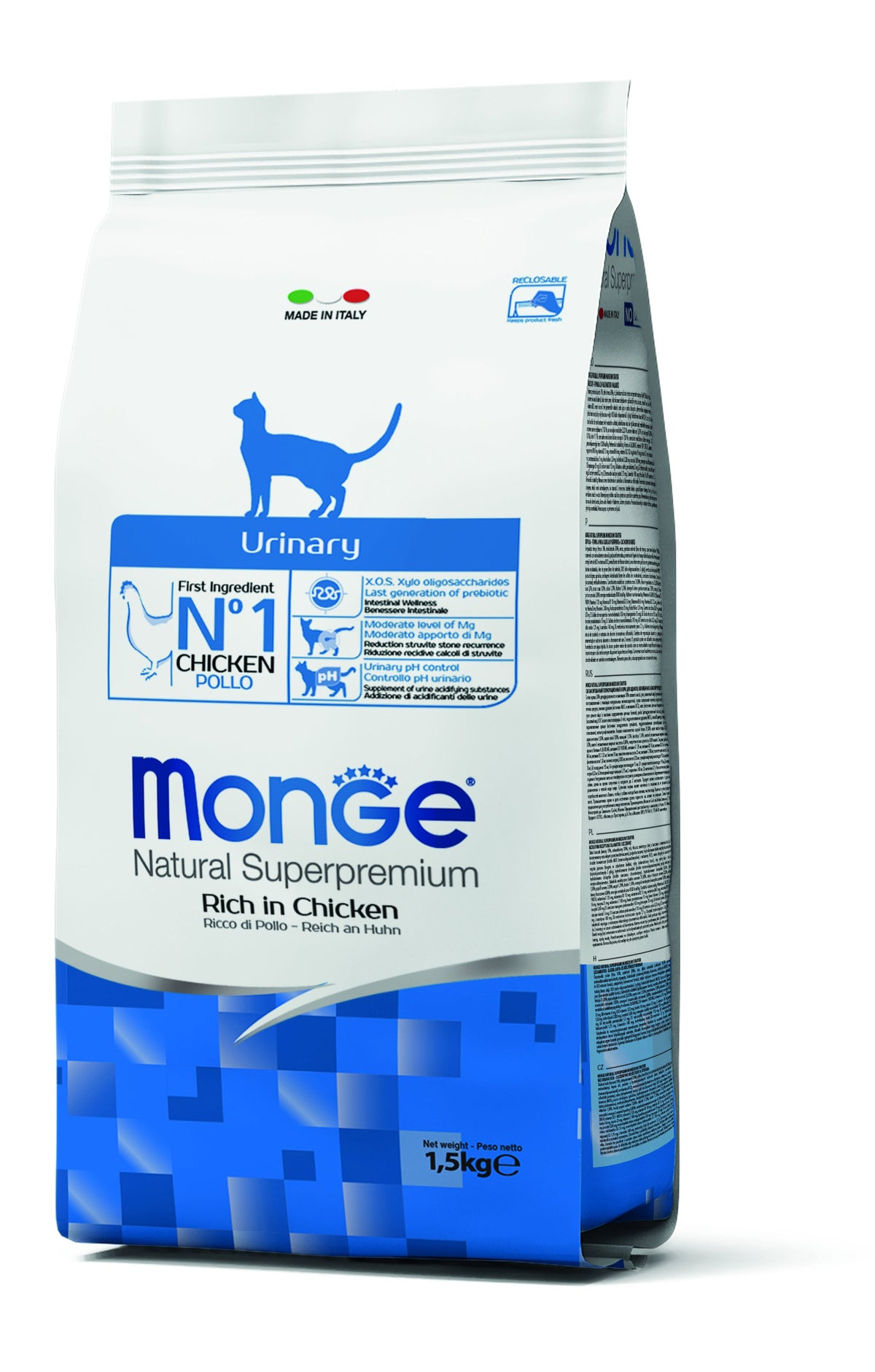 Monge Natural Superpremium secco gatto URINARY