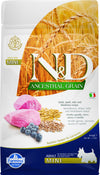 N&D Ancestral Cereals canine - AGNELLO & MIRTILLI - Adult Mini  800g