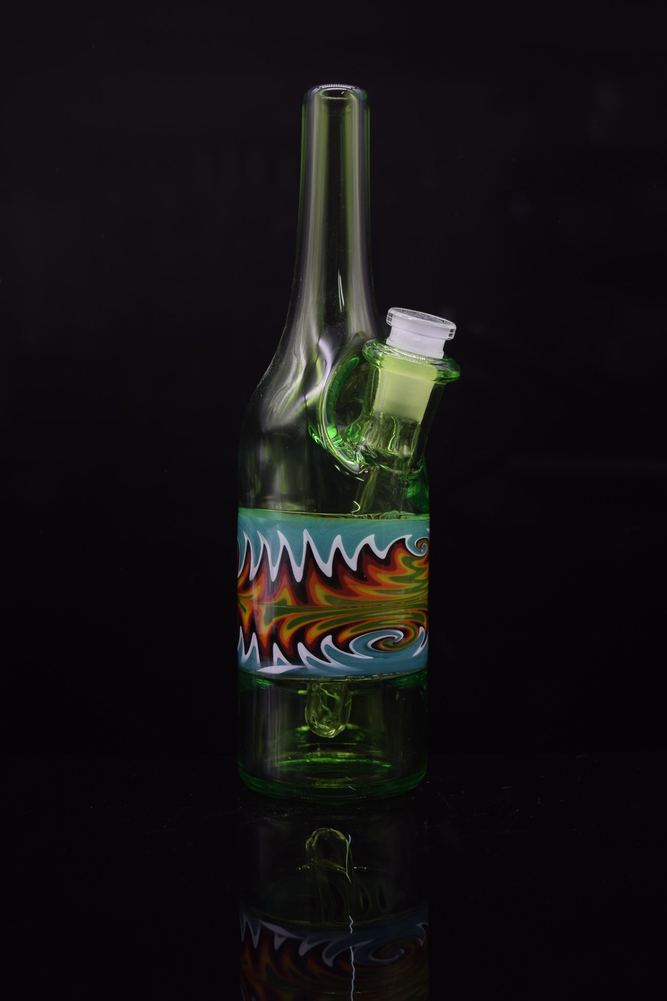Wig-Wag Saki Bottle