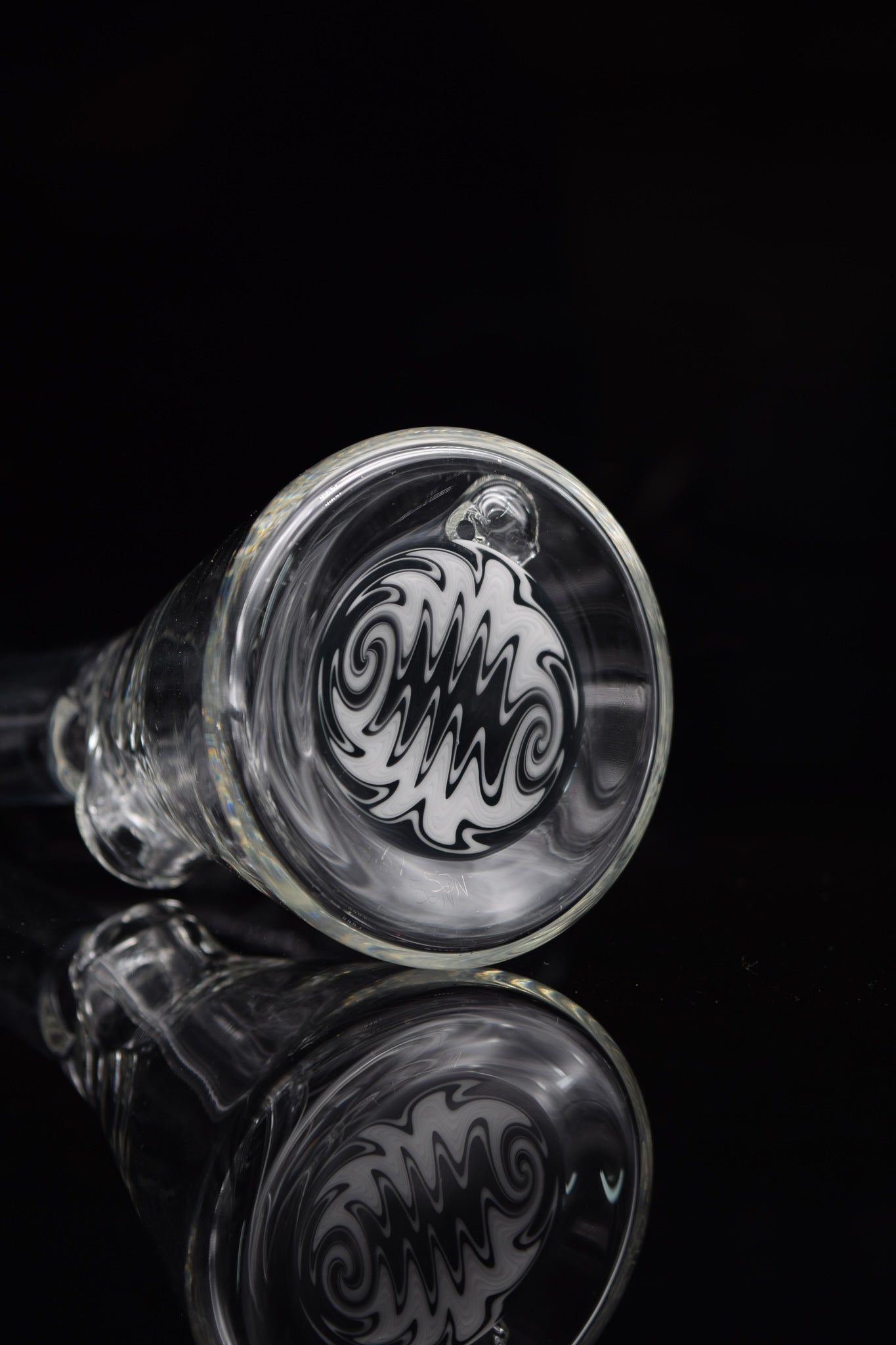 Black & White Choppa by Nes Glass