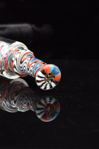 "16"" MAX GLASS Double Honeycomb w/ Turbine Perk 7mm Water Pipe - ON SALE!"