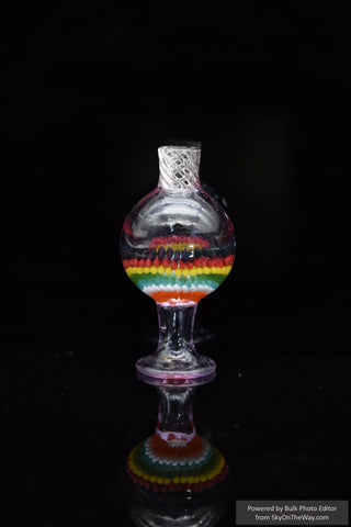Rasta Zebra Spoon Pipe