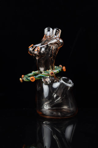 Colored Micro Fritted Banger Hanger