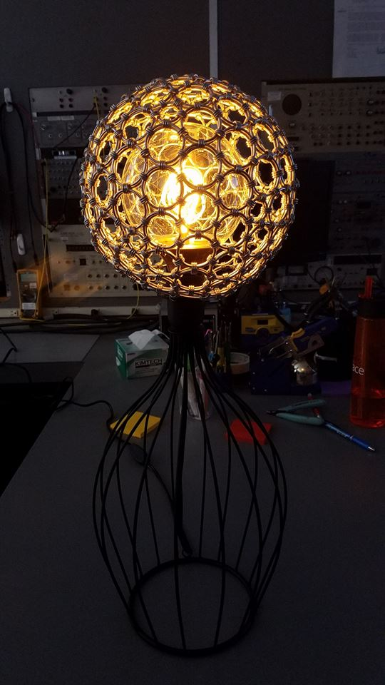 Chainmaille Lamp