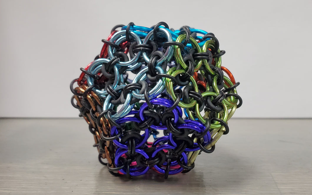 12 sided Chainmail ball
