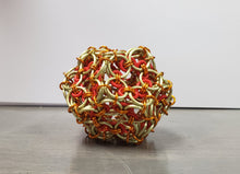 Load image into Gallery viewer, 12 sided Chainmail ball