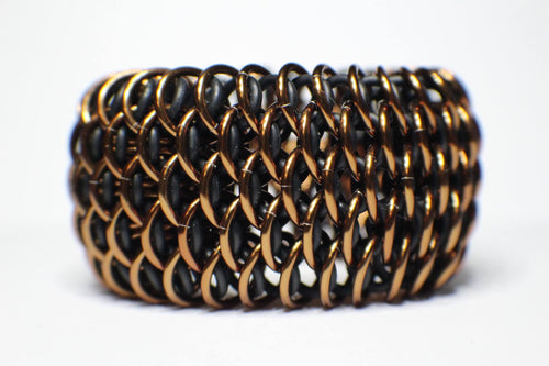 Bronze Color Dragonscale Cuff