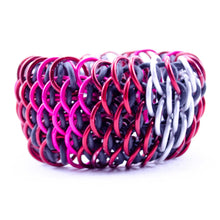 Load image into Gallery viewer, Hearts Dragonscale Cuff