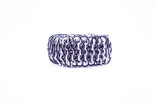 Load image into Gallery viewer, Colored Inside Rings Dragonscale Cuff