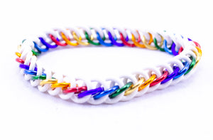 Rainbow White HP3 Bracelets