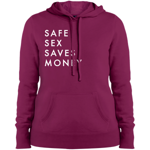 Safe Sex Saves Money Women's Pullover Hoodie