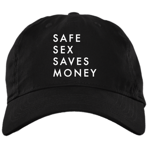 Safe Sex Saves Money Dad Cap