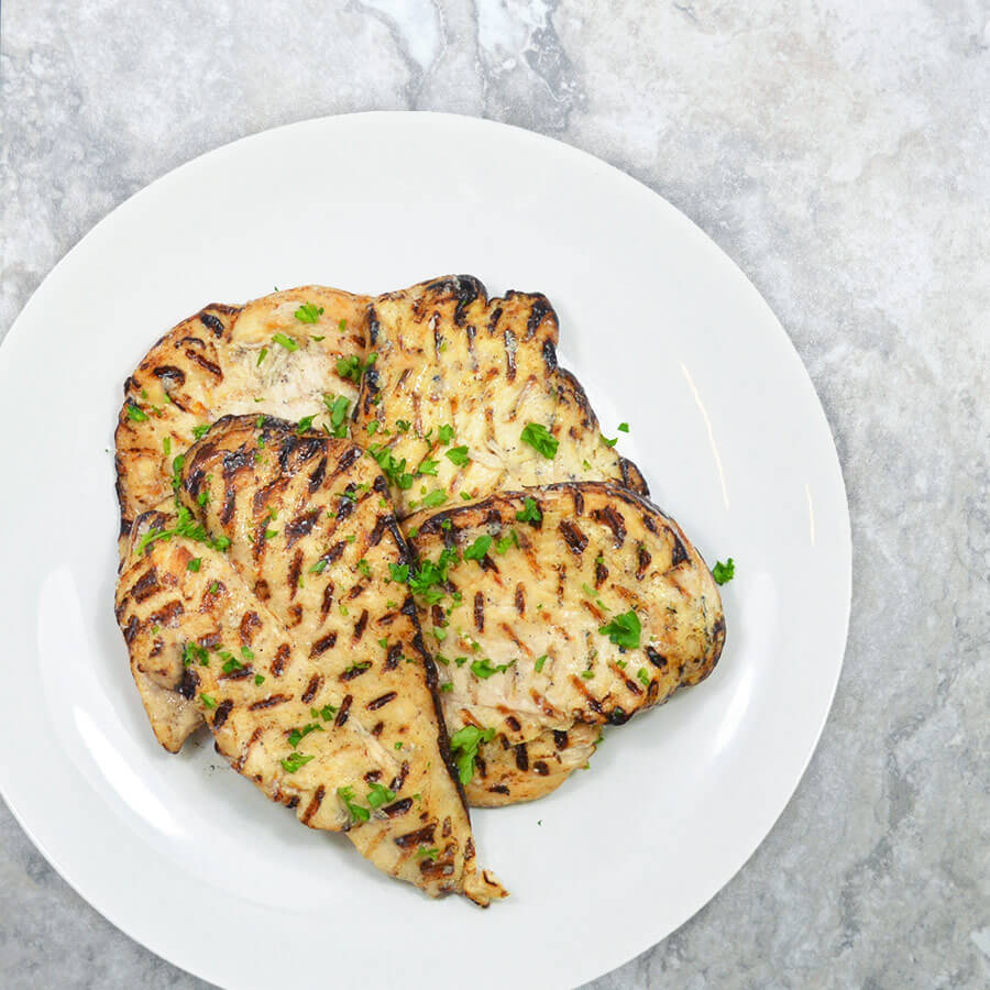 Fire-Braised Chicken Breasts (4 Servings)