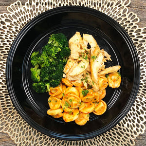 Family Style : Roasted Red Pepper Chicken Tortellini