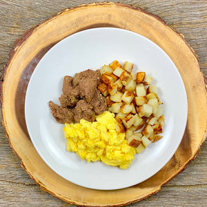 Steak, Potatoes & Eggs
