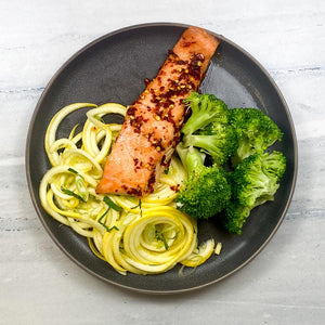 Keto Sweet Chili Salmon