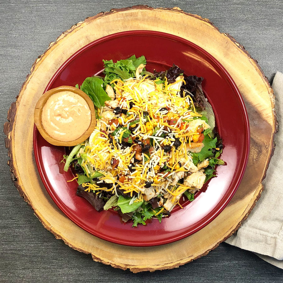 BBQ Ranch Summer Salad
