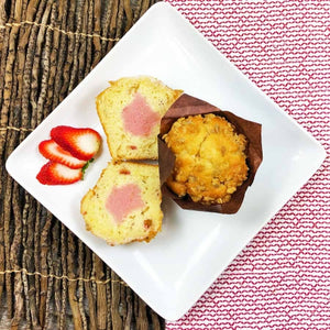 Strawberry  Rhubarb Parfait Muffins (Choice of 2 or 6)