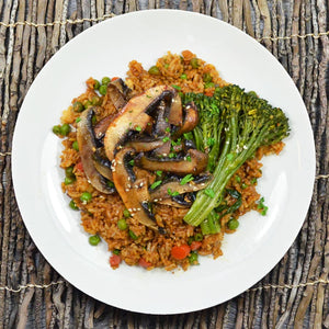 Portobello Teriyaki Fried Rice