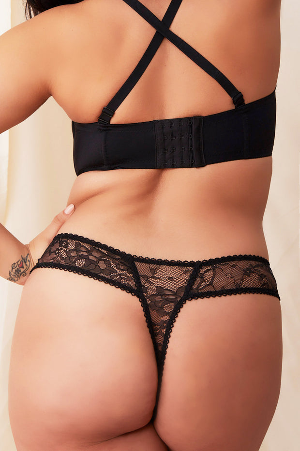 Essential Lace Thong