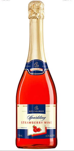 Katlenberger Strawberry Sparkling