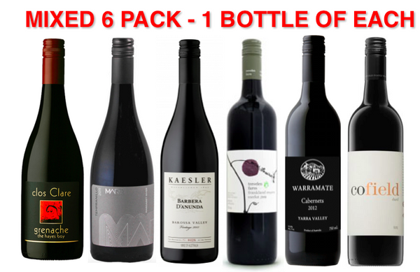 ANYTHING BUT SHIRAZ! Mixed Pack (6 pack)