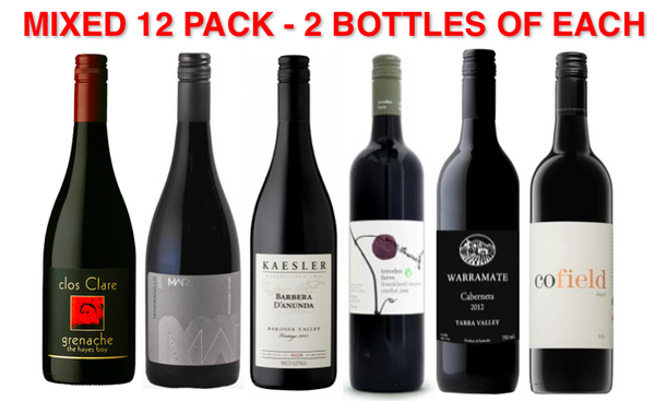 ANYTHING BUT SHIRAZ! Mixed Pack (12 pack)