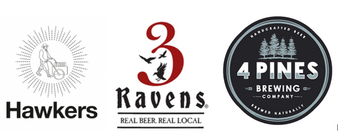 Hawkers, 3 Ravens & 4 Pines Mixed 12 Pack