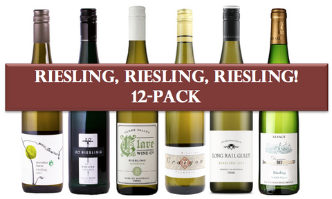Riesling, RIesling, Riesling Mixed 12 Pack