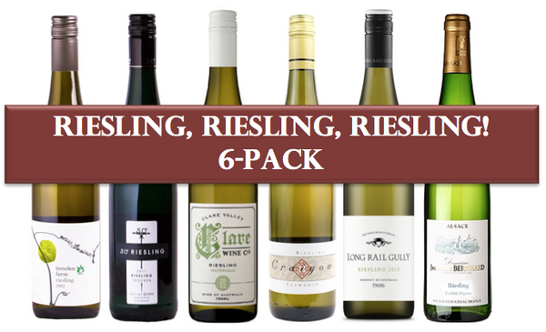 Riesling, RIesling, Riesling Mixed 6 Pack