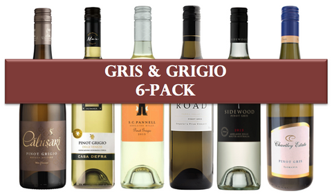 Gris & Grigio Mixed 6 pack
