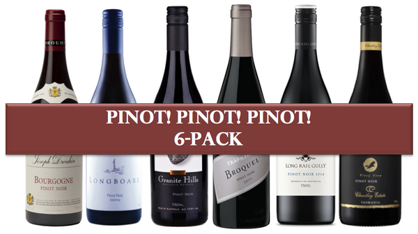 Pinot! Pinot! Pinot! Mixed 6 pack